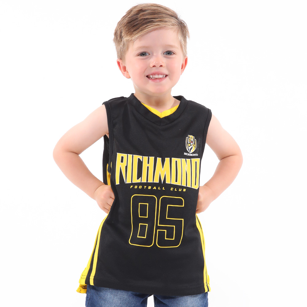 Richmond Tigers - S18 Toddler Basketball Singlet  87dcc5257