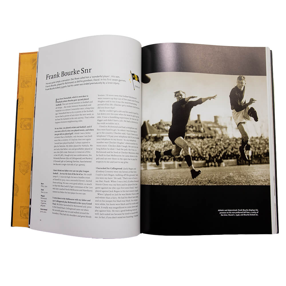 Richmond Tigers - Richmond F C The Tigers Book
